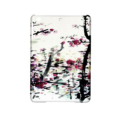 Pink Flower Ink Painting Art Ipad Mini 2 Hardshell Cases