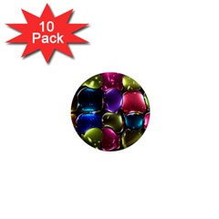 Stained Glass 1  Mini Magnet (10 Pack)