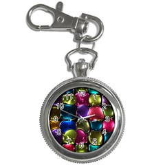 Stained Glass Key Chain Watches by BangZart