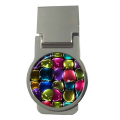 Stained Glass Money Clips (round)