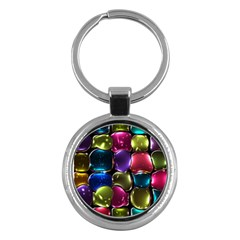 Stained Glass Key Chains (round)