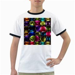Stained Glass Ringer T Shirts