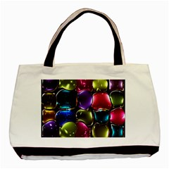 Stained Glass Basic Tote Bag (two Sides) by BangZart