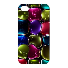 Stained Glass Apple Iphone 4/4s Premium Hardshell Case by BangZart