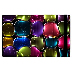 Stained Glass Apple Ipad 2 Flip Case