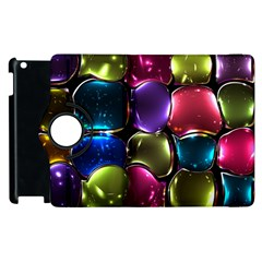 Stained Glass Apple Ipad 2 Flip 360 Case by BangZart