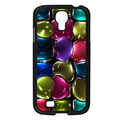 Stained Glass Samsung Galaxy S4 I9500/ I9505 Case (black) by BangZart