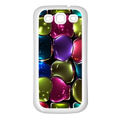 Stained Glass Samsung Galaxy S3 Back Case (white)