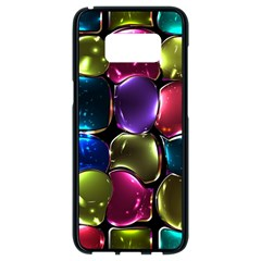 Stained Glass Samsung Galaxy S8 Black Seamless Case by BangZart