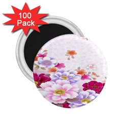 Sweet Flowers 2 25  Magnets (100 Pack)