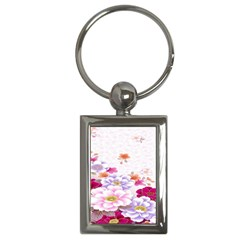 Sweet Flowers Key Chains (rectangle)  by BangZart