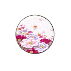 Sweet Flowers Hat Clip Ball Marker