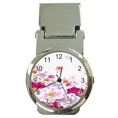 Sweet Flowers Money Clip Watches