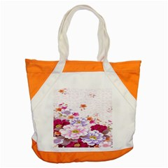 Sweet Flowers Accent Tote Bag by BangZart