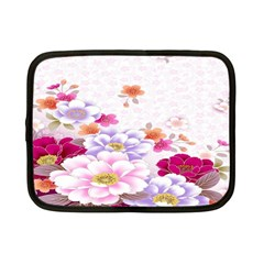 Sweet Flowers Netbook Case (small)