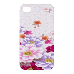 Sweet Flowers Apple Iphone 4/4s Hardshell Case by BangZart