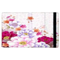 Sweet Flowers Apple Ipad 2 Flip Case by BangZart