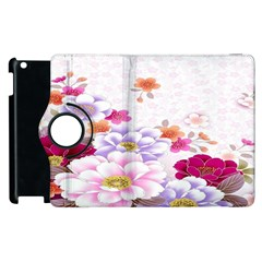 Sweet Flowers Apple Ipad 2 Flip 360 Case by BangZart