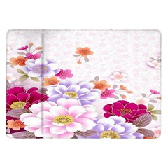 Sweet Flowers Samsung Galaxy Tab 10 1  P7500 Flip Case by BangZart