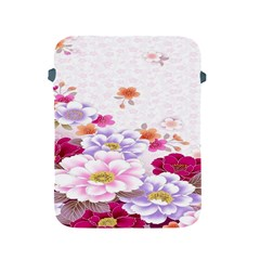 Sweet Flowers Apple Ipad 2/3/4 Protective Soft Cases by BangZart