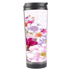 Sweet Flowers Travel Tumbler by BangZart
