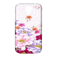 Sweet Flowers Samsung Galaxy S4 Classic Hardshell Case (pc+silicone) by BangZart