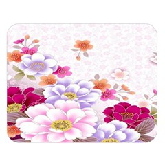 Sweet Flowers Double Sided Flano Blanket (large)  by BangZart