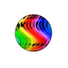 Colorful Vertical Lines Hat Clip Ball Marker (4 Pack) by BangZart