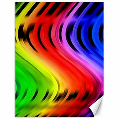 Colorful Vertical Lines Canvas 12  X 16   by BangZart