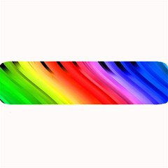 Colorful Vertical Lines Large Bar Mats