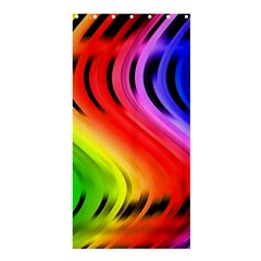 Colorful Vertical Lines Shower Curtain 36  X 72  (stall)  by BangZart