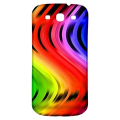 Colorful Vertical Lines Samsung Galaxy S3 S Iii Classic Hardshell Back Case