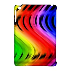 Colorful Vertical Lines Apple Ipad Mini Hardshell Case (compatible With Smart Cover) by BangZart