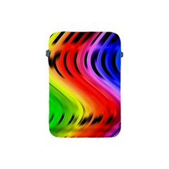 Colorful Vertical Lines Apple Ipad Mini Protective Soft Cases by BangZart