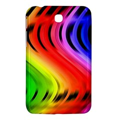 Colorful Vertical Lines Samsung Galaxy Tab 3 (7 ) P3200 Hardshell Case  by BangZart