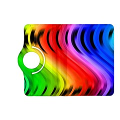 Colorful Vertical Lines Kindle Fire Hd (2013) Flip 360 Case by BangZart