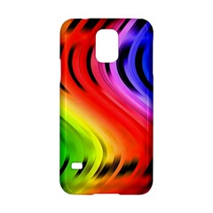Colorful Vertical Lines Samsung Galaxy S5 Hardshell Case