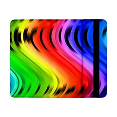 Colorful Vertical Lines Samsung Galaxy Tab Pro 8 4  Flip Case by BangZart