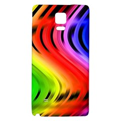 Colorful Vertical Lines Galaxy Note 4 Back Case