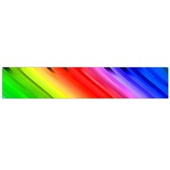 Colorful Vertical Lines Flano Scarf (large) by BangZart