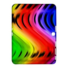 Colorful Vertical Lines Samsung Galaxy Tab 4 (10 1 ) Hardshell Case