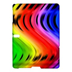 Colorful Vertical Lines Samsung Galaxy Tab S (10 5 ) Hardshell Case  by BangZart