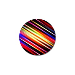 Funky Color Lines Golf Ball Marker (4 Pack) by BangZart