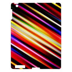 Funky Color Lines Apple Ipad 3/4 Hardshell Case by BangZart