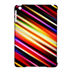 Funky Color Lines Apple Ipad Mini Hardshell Case (compatible With Smart Cover) by BangZart