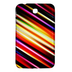 Funky Color Lines Samsung Galaxy Tab 3 (7 ) P3200 Hardshell Case  by BangZart