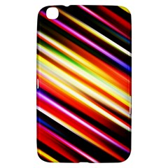 Funky Color Lines Samsung Galaxy Tab 3 (8 ) T3100 Hardshell Case