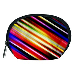 Funky Color Lines Accessory Pouches (medium)