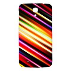 Funky Color Lines Samsung Galaxy Mega I9200 Hardshell Back Case by BangZart