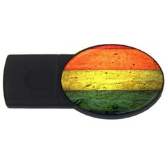 Five Wall Colour Usb Flash Drive Oval (4 Gb) by BangZart
